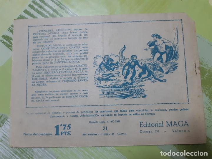 Tebeos: TEBEOS-COMICS CANDY - EL DUQUE NEGRO 21 - MAGA 1958 - ORIGINAL *AA98 - Foto 2 - 167434944