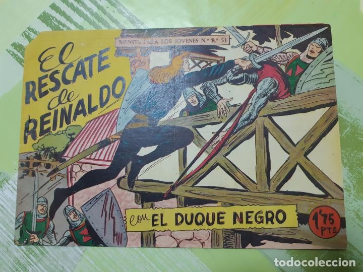 TEBEOS-COMICS CANDY - EL DUQUE NEGRO 21 - MAGA 1958 - ORIGINAL *AA98 (Tebeos y Comics - Maga - Otros)