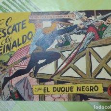 Tebeos: TEBEOS-COMICS CANDY - EL DUQUE NEGRO 21 - MAGA 1958 - ORIGINAL *AA98. Lote 167434944