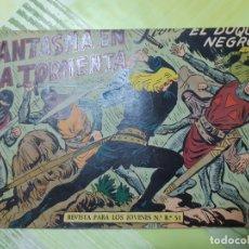 Tebeos: TEBEOS-COMICS CANDY - EL DUQUE NEGRO - Nº 22 - MAGA 1958 - ORIGINAL *AA98. Lote 167435576