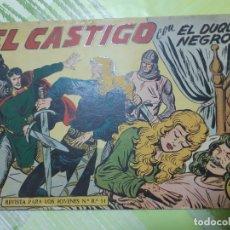 Tebeos: TEBEOS-COMICS CANDY - EL DUQUE NEGRO - Nº 24 - MAGA 1958 - ORIGINAL *AA98. Lote 167436960