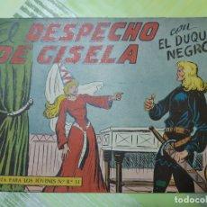 Tebeos: TEBEOS-COMICS CANDY - EL DUQUE NEGRO - Nº 26 - MAGA 1958 - ORIGINAL *AA98. Lote 167438240