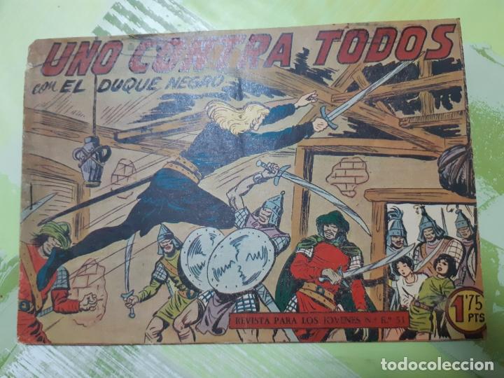 TEBEOS-COMICS CANDY - EL DUQUE NEGRO - Nº 27 - MAGA 1958 - ORIGINAL *AA98 (Tebeos y Comics - Maga - Otros)