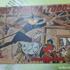 Tebeos: TEBEOS-COMICS CANDY - EL DUQUE NEGRO - Nº 27 - MAGA 1958 - ORIGINAL *AA98. Lote 167439260