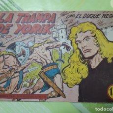 Tebeos: TEBEOS-COMICS CANDY - EL DUQUE NEGRO - Nº 34 - MAGA 1958 - ORIGINAL *AA98. Lote 167441808