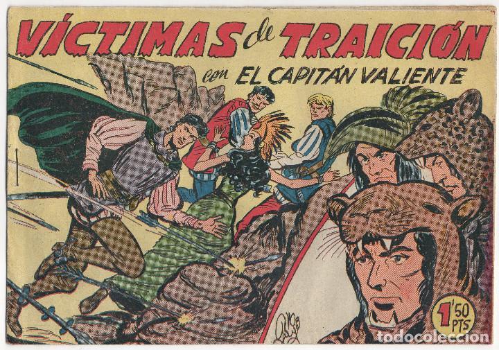 Tebeos: CAPITAN VALIENTE nº 7, 8 y 12 (Maga 1957) - Foto 2 - 131550238