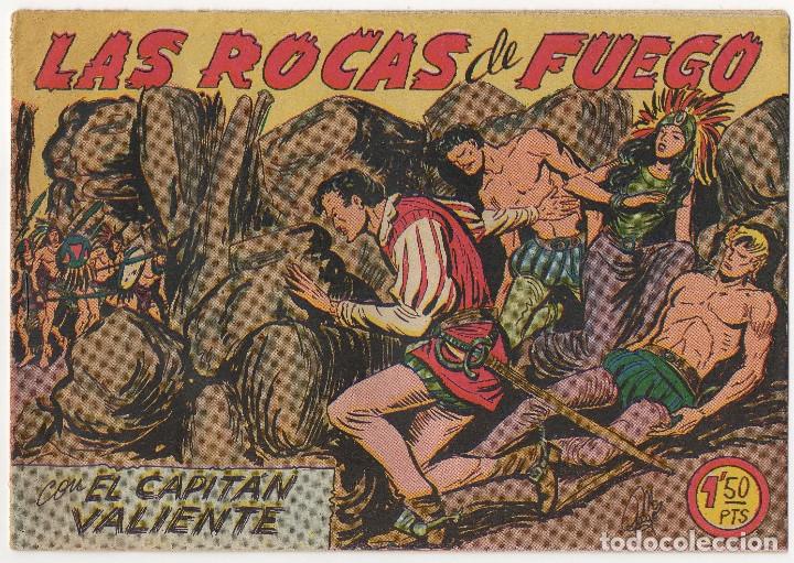 Tebeos: CAPITAN VALIENTE nº 7, 8 y 12 (Maga 1957) - Foto 4 - 131550238