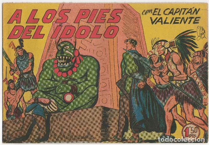 Tebeos: CAPITAN VALIENTE nº 7, 8 y 12 (Maga 1957) - Foto 6 - 131550238