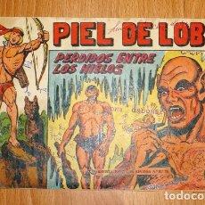 Tebeos: PIEL DE LOBO. Nº 17 : PERDIDOS ENTRE LOS HIELOS(SERIE EL CABALLERO DE LA ROSA). Lote 167937880