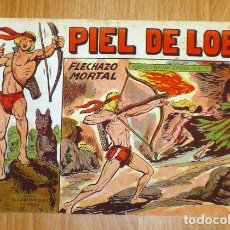 Tebeos: PIEL DE LOBO. Nº 73 : FLECHAZO MORTAL (SERIE EL CABALLERO DE LA ROSA). Lote 167938344