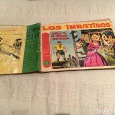 Tebeos: LOS IMBATIDOS - Nº 15 - DUELO EN LA CIUDAD FANTASMA - MAGA - AÑO 1963.. Lote 168608584