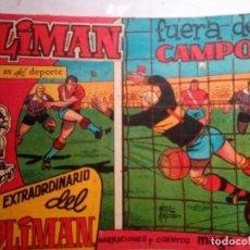 Tebeos: OLIMÁN-AS DEL DEPORTE- EXTRA- Nº 2 -FUERA DEL CAMPO-1961-RICARDO ACEDO-BUENO-DIFÍCIL-1381. Lote 168625304