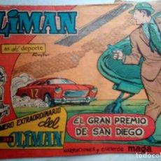 Giornalini: OLIMÁN-AS DEL DEPORTE- EXTRA- Nº 12 -EL GRAN PREMIO DE SAN DIEGO-1961-RICARDO ACEDO-DIFÍCIL-1385. Lote 168641544