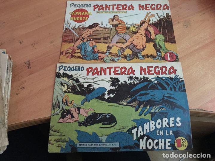 Tebeos: PEQUEÑO PANTERA NEGRA LOTE 9 EJEMPLARES ENTRE Nº 133 Y 255 (ORIGINAL ED. MAGA) (COIB4) - Foto 2 - 168755896