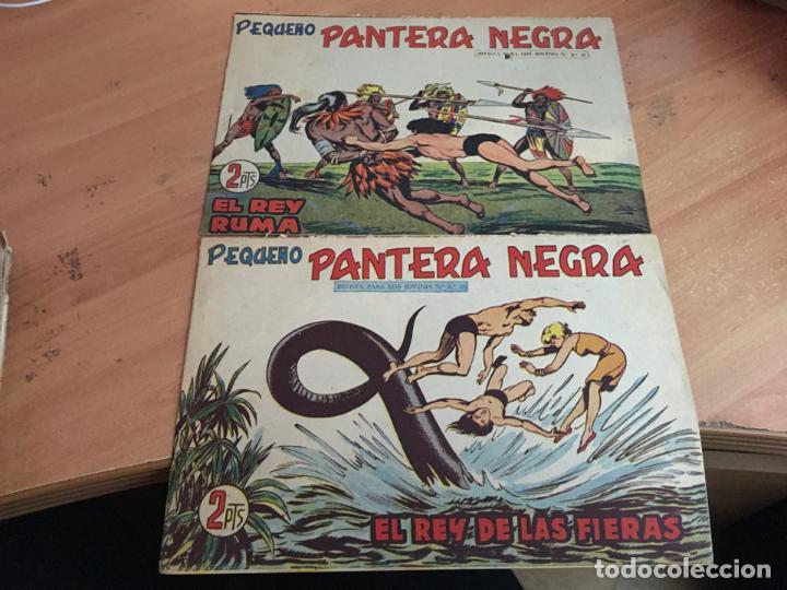 Tebeos: PEQUEÑO PANTERA NEGRA LOTE 9 EJEMPLARES ENTRE Nº 133 Y 255 (ORIGINAL ED. MAGA) (COIB4) - Foto 3 - 168755896