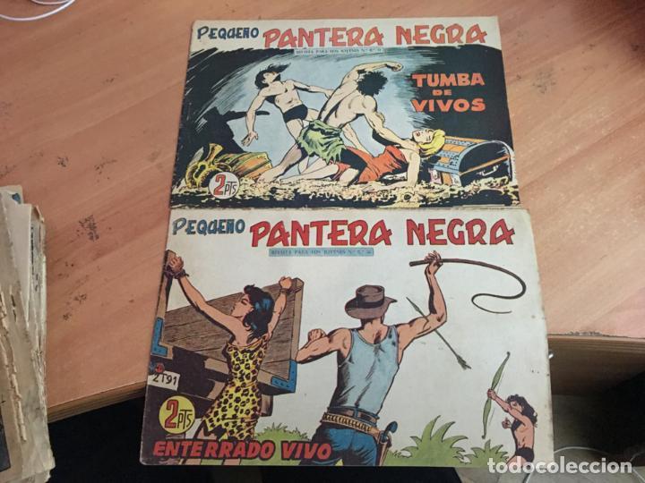 Tebeos: PEQUEÑO PANTERA NEGRA LOTE 9 EJEMPLARES ENTRE Nº 133 Y 255 (ORIGINAL ED. MAGA) (COIB4) - Foto 4 - 168755896
