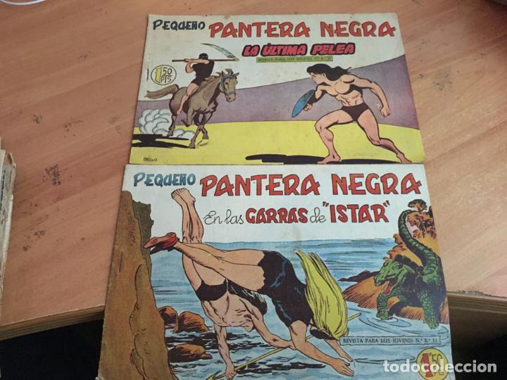 Tebeos: PEQUEÑO PANTERA NEGRA LOTE 9 EJEMPLARES ENTRE Nº 133 Y 255 (ORIGINAL ED. MAGA) (COIB4) - Foto 5 - 168755896