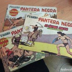 Tebeos: PEQUEÑO PANTERA NEGRA LOTE 9 EJEMPLARES ENTRE Nº 133 Y 255 (ORIGINAL ED. MAGA) (COIB4). Lote 168755896