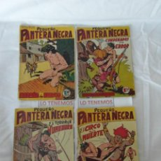 Tebeos: PEQUEÑO PANTERA NEGRA DE 1958 Nº 62,63,64,65. Lote 169172884