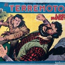 Giornalini: DAN BARRY EL TERREMOTO 20 ORIGINAL. MAGA. DIBUJOS JOSE ORTIZ. Lote 169214560