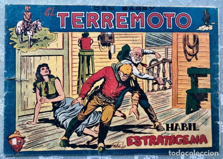DAN BARRY EL TERREMOTO 31 ORIGINAL. EDITORIAL MAGA. DIBUJOS JOSE ORTIZ (Tebeos y Comics - Maga - Dan Barry)