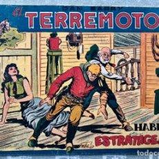 Tebeos: DAN BARRY EL TERREMOTO 31 ORIGINAL. EDITORIAL MAGA. DIBUJOS JOSE ORTIZ. Lote 169216100