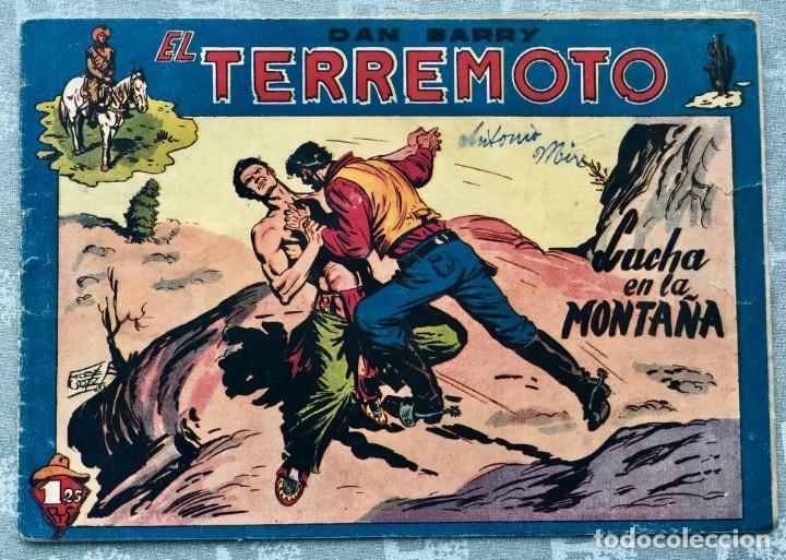 DAN BARRY EL TERREMOTO 38 ORIGINAL. EDITORIAL MAGA. DIBUJOS JOSE ORTIZ (Tebeos y Comics - Maga - Dan Barry)