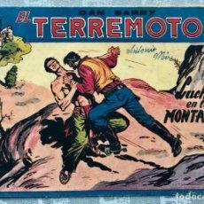 Tebeos: DAN BARRY EL TERREMOTO 38 ORIGINAL. EDITORIAL MAGA. DIBUJOS JOSE ORTIZ. Lote 169295672