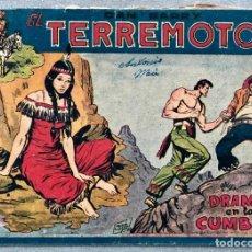 Giornalini: DAN BARRY EL TERREMOTO 39 ORIGINAL. EDITORIAL MAGA. DIBUJOS JOSE ORTIZ. Lote 169296948
