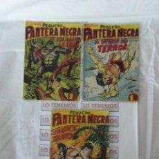 Tebeos: PEQUEÑO PANTERA NEGRA EDITORIAL MAGA DE 1958 Nº 111,112,113. Lote 169310240