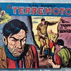 Giornalini: DAN BARRY EL TERREMOTO 50 ORIGINAL. EDITORIAL MAGA. DIBUJOS JOSE ORTIZ. Lote 169327480