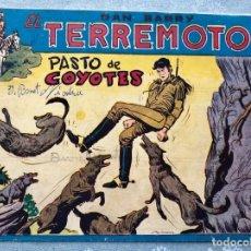 Giornalini: DAN BARRY EL TERREMOTO 53 ORIGINAL. EDITORIAL MAGA. DIBUJOS JOSE ORTIZ. Lote 169329068