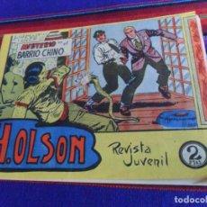 Tebeos: H.OLSON Nº 8 ORIGINAL. MISTERIO EN EL BARRIO CHINO. MAGA 2 PTS. 1964. . Lote 169440248