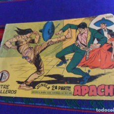 Tebeos: APACHE 2ª PARTE Nº 48 ORIGINAL. MAGA 1957 1,50 PTS. JUGLA. POR CLAUDIO TINOCO. . Lote 169444156
