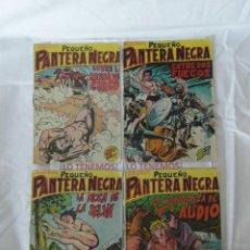 Tebeos: PEQUEÑO PANTERA NEGRA EDITORIAL MAGA DE 1958 Nº 106,107,108,109. Lote 169549924