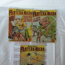 Tebeos: PEQUEÑO PANTERA NEGRA EDITORIAL MAGA DE 1958 Nº 98,99,100. Lote 169550856
