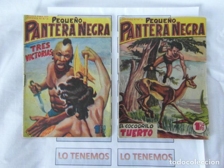 PEQUEÑO PANTERA NEGRA EDITORIAL MAGA DE 1958 Nº 76,77 (Tebeos y Comics - Maga - Pantera Negra)