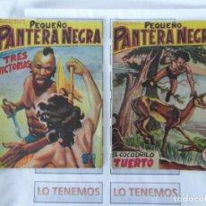Tebeos: PEQUEÑO PANTERA NEGRA EDITORIAL MAGA DE 1958 Nº 76,77. Lote 169650908