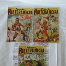 Tebeos: PEQUEÑO PANTERA NEGRA EDITORIAL MAGA DE 1958 Nº 72,73,74. Lote 169651916