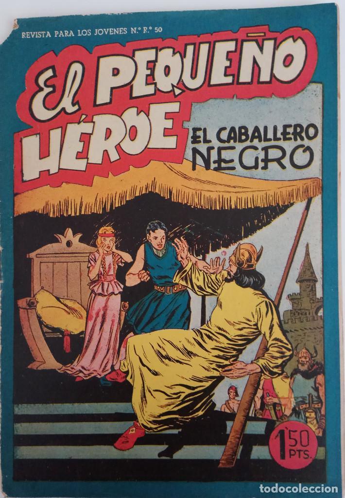 COLECCIÓN EL PEQUEÑO HÉROE Nº 37 - EL CABALLERO NEGRO (Tebeos y Comics - Maga - Pequeño Héroe)