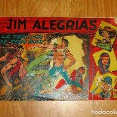 Tebeos: JIM ALEGRÍAS. Nº 3 : LA TRAICIÓN DE TORO ROJO (SERIE EL GAVILÁN). Lote 170510028