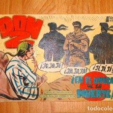 Tebeos: DON Z. Nº 33 : EN EL UMBRAL DE LA MUERTE (SERIE EL PEQUEÑO HÉROE). Lote 170632780