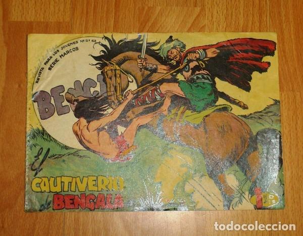 BENGALA. Nº 43 : EL CAUTIVERIO DE BENGALA (SERIE MARCOS) (Tebeos y Comics - Maga - Bengala)