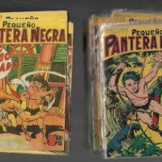 Tebeos: PEQUEÑO PANTERA NEGRA AÑO 1958 COLECCIÓN COMPLETA SON 70 TEBEOS ORIGINALES CON TAPAS DE M. QUESADA. Lote 170878495