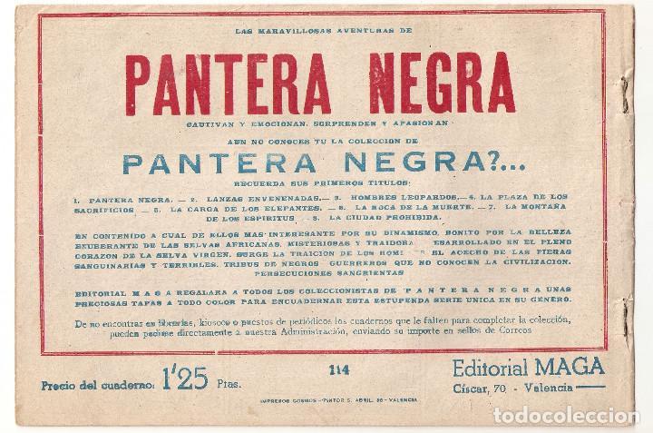 Tebeos: TONY Y ANITA LOS ASES DEL CIRCO nº 114 TEBEO ORIGINAL 1956 LA BARRERA DEL SILENCIO Editorial Maga - Foto 2 - 170918825