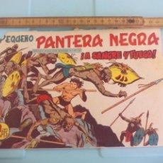 Tebeos: PEQUEÑO PANTERA NEGRA. Nº 31. A SANGRE Y FUEGO EDITORIAL MAGA. 1958. Lote 170920350