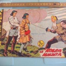 Tebeos: HACHA Y ESPADA. Nº 16. LA ATALAYA MARDITA, SERIE LOS TRES BILL. EDITORIAL MAGA. 1961. Lote 170921510