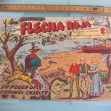 Tebeos: FLECHA ROJA. Nº 35. EN PODER DEL CORONEL CHARLEY, EDITORIAL MAGA. 1962. Lote 202533660