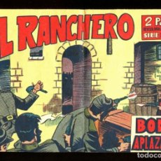 BDs: EL RANCHERO - EDITORIAL MAGA / NÚMERO 7 (BODA APLAZADA). Lote 170985767