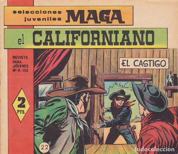 COMIC COLECCION EL CALIFORNIANO Nº 22 (Tebeos y Comics - Maga - Otros)